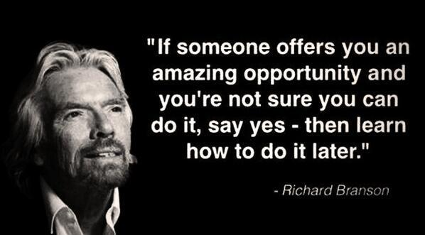 Derby Days Out Favourite Richard Branson Quote
